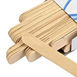 #1: CETC Wooden Professional Disposable Wax Knife/Spatulas/Applicators 100 pcs Box