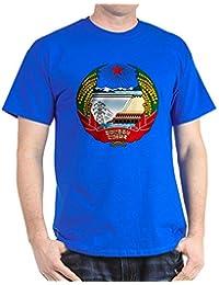 CafePress - North Korea Coat of Arms Dark T-Shirt - 100% Cotton T-Shirt