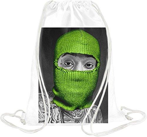 Wiz Khalifa Grüne Maske Weed Dope Swag Thug Green Mask Weed Dope Swag Thug Gym Travel Drawstring Sack Printed Bags By