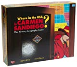 Where in the USA is Carmen Sandiego? (Board Game) by University Games