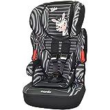 Osann Kinderautositz BeLine SP Luxe Zebra schwarz, 9 bis 36 kg, ECE Gruppe 1 / 2 / 3, von ca. 9 Monate bis 12 Jahre, mitwachsende Kopfstütze