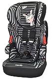 Osann Kinderautositz BeLine SP Luxe Zebra schwarz, 9 bis 36 kg, ECE Gruppe 1/2 / 3, von ca. 9 Monate bis 12 Jahre, mitwachsende Kopfstütze