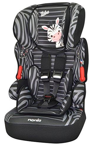 Osann Kinderautositz BeLine SP Luxe Zebra schwarz, 9 bis 36 kg, ECE Gruppe 1 / 2 / 3, von ca. 9 Monate bis 12 Jahre, mitwachsende Kopfstütze -