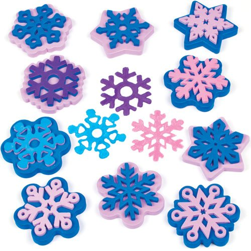 snowflake-stampers-for-children-to-decorate-winter-cards-crafts-and-collage-pack-of-10