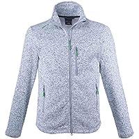 38af0fb837bd First B Herren Fleecejacke Strickfleece Jacke Sweatjacke modern sportlich