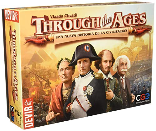 Comprar Devir - Through The Ages: Una Nueva Historia de la civilización, Juego de Mesa (BGHTAGES)