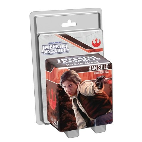 Star Wars: Imperial Assault - Han Solo, Pack de aliado, Juego de Mesa (Edge Entertainment EDGSWI06)