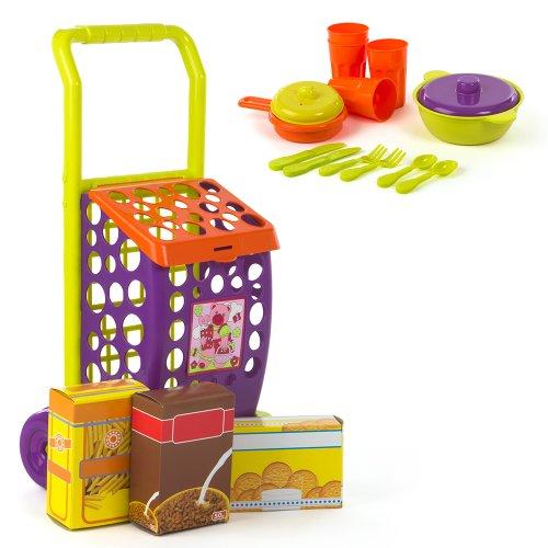 Color Baby - Set carrito alimentos accesorios, 11