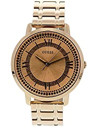 Guess Watches Womens Guess Womens Rose Gold Watch