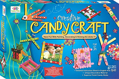 House of Gifts Creative Candy Craft Kidz Craft Kit Toys
