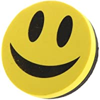 Sonline Cancellino Magnetico Calamite Faccia Sorridente per Lavagna Bianca X Ufficio