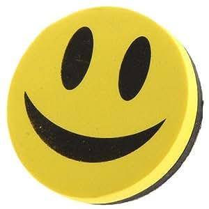 AJOYCN Magnetic Smile Face Design Blackboard Whiteboard Eraser Cleaner