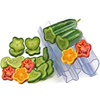 mehre Interesse Gemüsewachstum Sternform Wuchsschablonen für Gurken