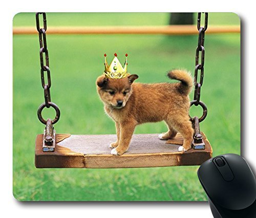 pretty-dog-in-crown-nicemasterpiece-limited-design-oblong-mouse-pad-by-cases-mousepads