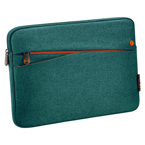"""PEDEA Tablet PC Tasche \""""Fashion\"""" für 10,1 - 11 Zoll (25,6 - 27,96 cm) Schutzhülle Etui Case mit Zubehörfach, türkis"""