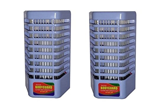 Inglis Lady Real Electron Go Out Mosquito Killer (Pack of 2) Effective Led Night Lamp - Insect Killer