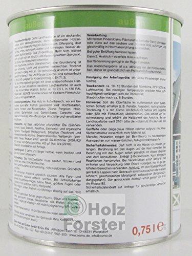 OSMO Landhausfarbe High Solid 750ml Taubenblau 2507
