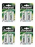 4 X Energizer Plus Power D 2500mAh Größe 1,2 V wiederaufladbare Batterie HR-FABSPOWER 20-7638900138757