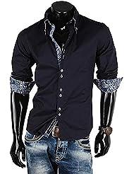 Brandneu !!! Designer Hemd von CARISMA in 3 Farben uni CRM8173