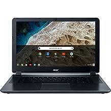 "2018 Flagship Acer Premium 15.6"" HD ComfyView Chromebook, Intel Dual-Core Celeron 1.6GHz, 4GB Memory, 16GB EMMC Flash Memory, 802.11ac, Bluetooth, Webcam, HDMI, SD Card Reader, USB 3.0, Chrome OS"