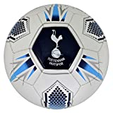 Tottenham Hotspur FC Official Hex Crest Football (Size 5)