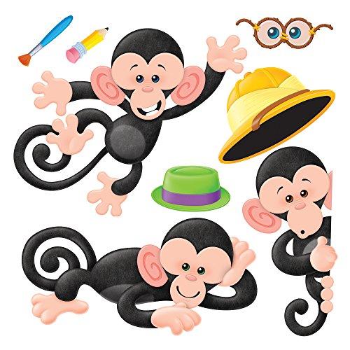 nc. Monkey Mischief Bulletin Board Set ()