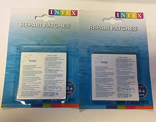Intex Wet Set Vinyl Kunststoff-Patch zur Reparatur (2) -