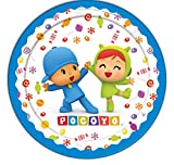 Verbetena, 016001504, pack 8 dishes pocoyo and mine, 18 cms.