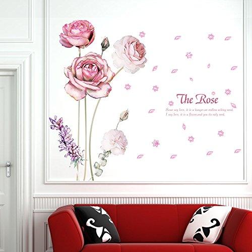 Arbeitstisch Türen (wassaw Moonflower Restaurant Xuan Guan Kleiderschrank Wohnzimmer Schlafzimmer Tür Und Fenster Tv-Hintergrund-Wand Dekoration Wandaufkleber Einfache wasserdichte PVC-landschaftsanlage)