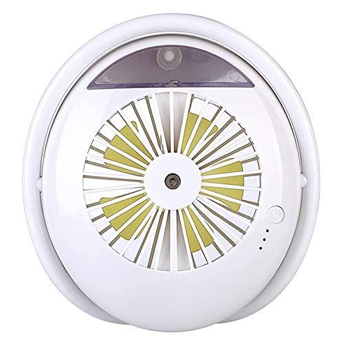 tffl Misting Cooling Handheld, 2000mA,Mini Ventilador de pulverización Recargable de Mano, humidificador,...