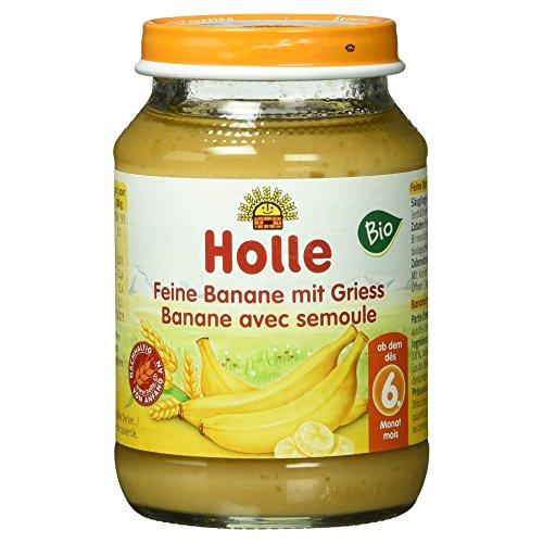 Holle Bio Feine Banane mit Griess, 190 g