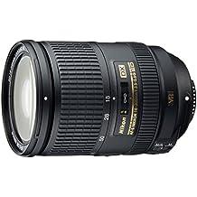 Nikon AF-S DX NIKKOR 18-300mm f/3.5-5.6G ED VR - Objetivo para Nikon (Estabilizador, diámetro: 77mm) negro + parasol