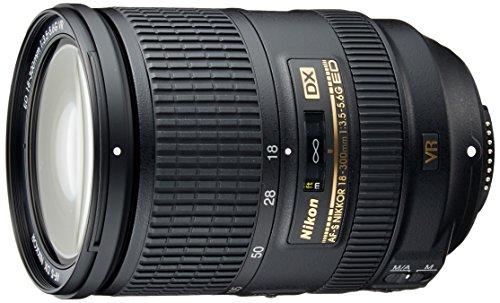 Nikon AF-S DX - Obiettivo Nikkor F3,5-5,6G ED VR 18 mm-300 mm (connettore F Nikon, autofocus, stabilizzatore d'immagine)