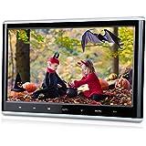 """Pumpkin CH1011B - DVD CD MP4 MP3 Pantalla Reproductor para Reposacabezas de Coche( 10.1"""" HD Pantalla, Botón Tácil, USB, SD, HDMI ) Soporta Juegos / 1080p Vídeo / Home Use"""