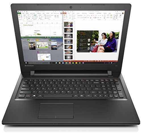 Lenovo Ideapad 300 15.6-Inch HD Laptop (Black) - (Intel Core i5-6200U, 8 GB RAM, 1 TB HDD, Intel HD Graphics, Windows 10)