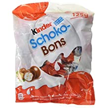Kinder Schoko-Bons Bombones de Chocolate - 8 Paquete de 125 gr - Total:
