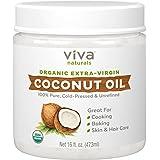 Viva Labs # 1 Extra Ecológico Aceite de coco virgen