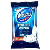 Domestos Fresh Fragranced Toilet Wipes 40 Wipes