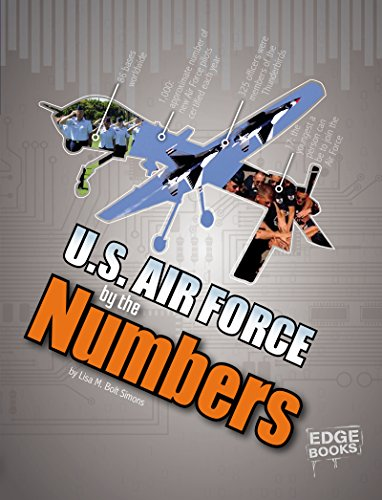 U.S. Air Force by the Numbers (Military by the Numbers) (English Edition) (Militärische Us-air-force-kinder)
