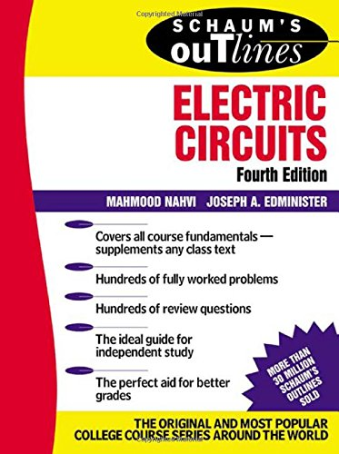 Schaum's Outline of Electric Circuts (Schaum's Outline Series)