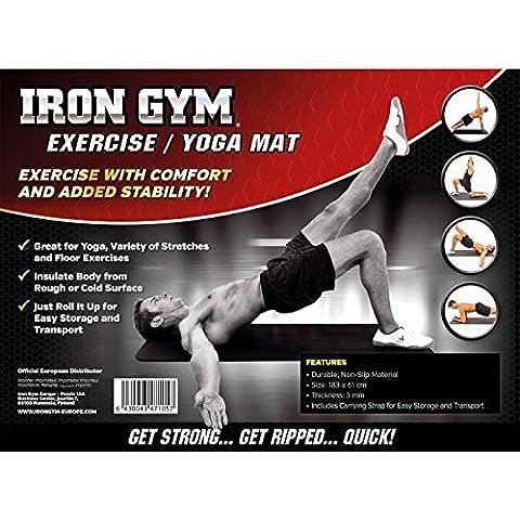 Arancione Planet Iron Gym fornendo/tappetino da yoga