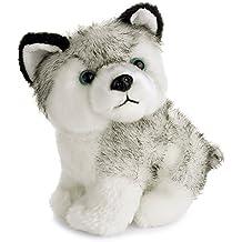 Juguete de peluche Uarter Husky para niños con diseño de cachorro y perro de peluche, 20 cm
