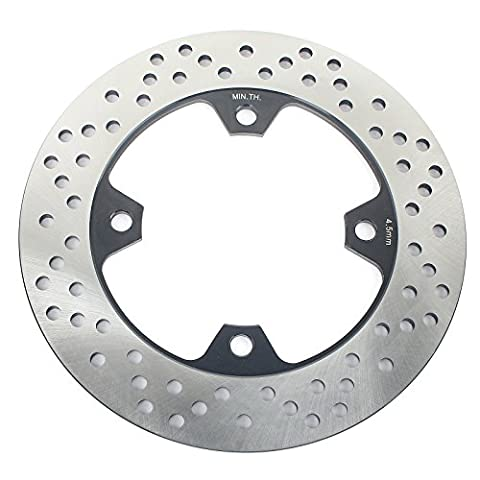 TARAZON Round Rear Brake Rotor Disc for Kawasaki Ninja ZX9R 98-04 ZX10R 04-15 Z750 ZX6R