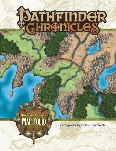Pathfinder Chronicles: Rise of the Runelords Map Folio (The Pathfinder Chronicles)