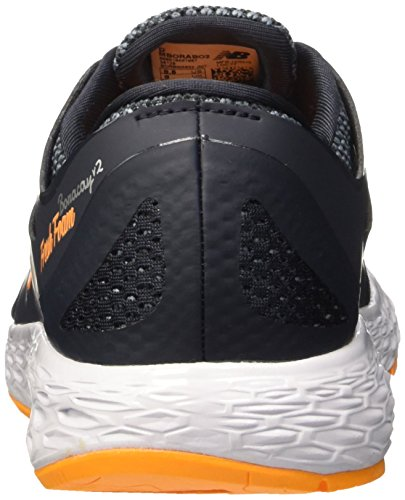 New Balance 487861-60, Running Homme Noir (Black/Orange/952)