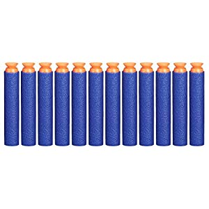 Nerf Suction Darts 12-Pack Refill for Elite Blasters — Official Elite Suction Darts — for Kids, Teens, Adults