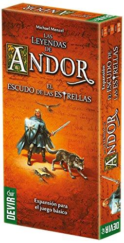 Devir - Las leyendas de Andor: El escudo de las estrellas (BGANDESC)