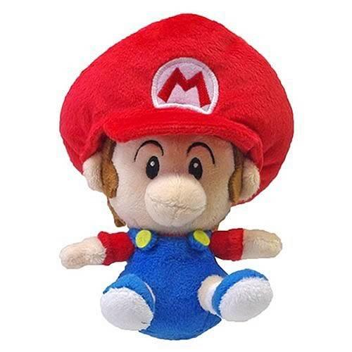 "Preisvergleich Produktbild Little Buddy Toys Super Mario plush-5""Baby Mario"