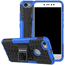 Bracevor TPU Shockproof Hybrid Kickstand Back Case Cover for Redmi Y1/Redmi Y1 Lite/Xiaomi Redmi Note 5A (Blue)