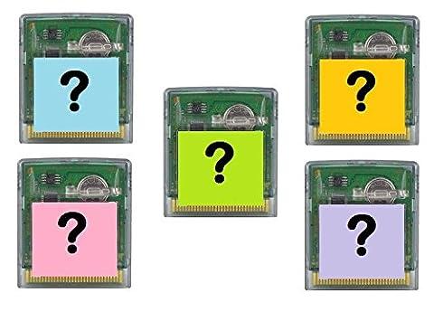 5 Zufällige Nintendo Game Boy Color Spiele - Deutsche Pal Versionen - Maximal 1 Sportspiel - Module ohne Original